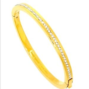 New Kate Spade ring it up pave bangle